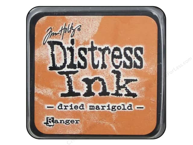 Tim Holtz Distress Mini Ink Pad by Ranger Dried Marigold