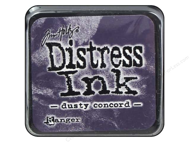Tim Holtz Distress Mini Ink Pad by Ranger Dusty Concord