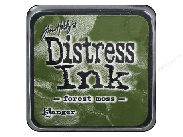 Tim Holtz Distress Mini Ink Pad by Ranger Forest Moss