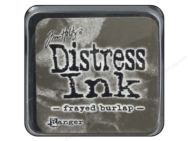 Tim Holtz Distress Mini Ink Pad by Ranger Frayed Burlap