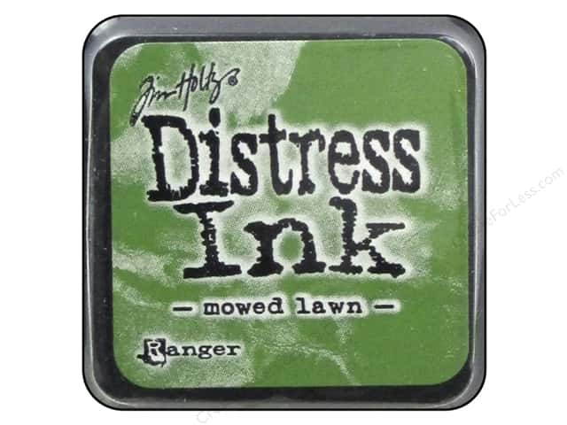 Tim Holtz Distress Mini Ink Pad by Ranger Mowed Lawn
