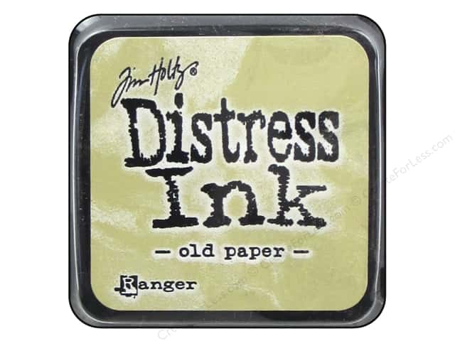 Tim Holtz Distress Mini Ink Pad by Ranger Old Paper