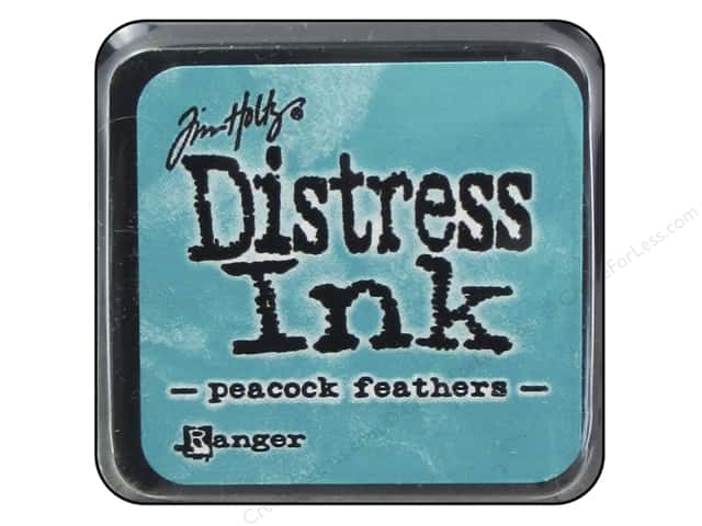 Tim Holtz Distress Mini Ink Pad by Ranger Peacock Feathers