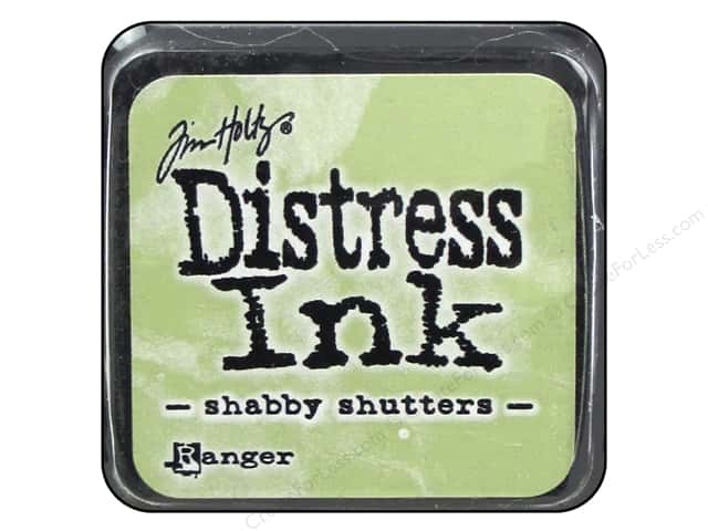 Tim Holtz Distress Mini Ink Pad by Ranger Shabby Shutters