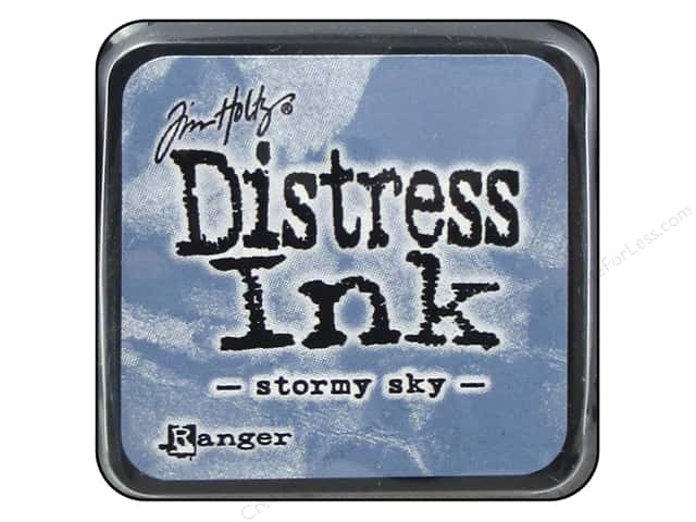 Tim Holtz Distress Mini Ink Pad by Ranger Stormy Sky