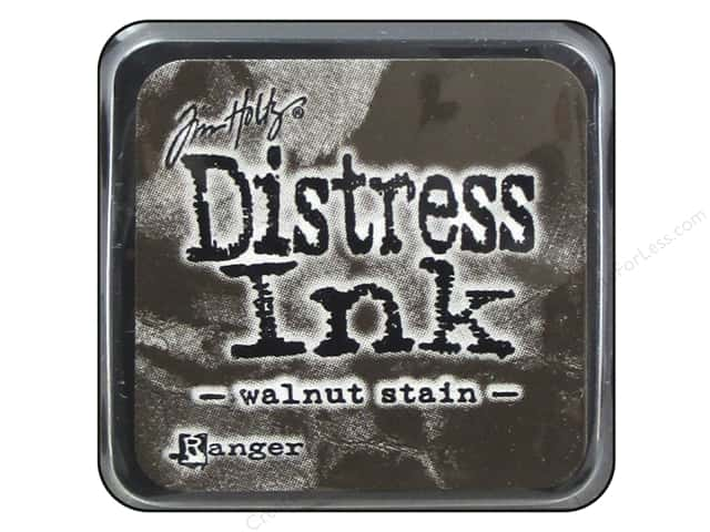 Tim Holtz Distress Mini Ink Pad by Ranger Walnut Stain