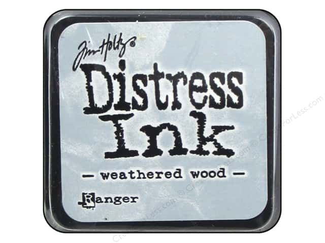 Tim Holtz Distress Mini Ink Pad by Ranger Weathered Wood