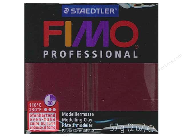 Fimo Professional Clay 2 oz. Bordeaux