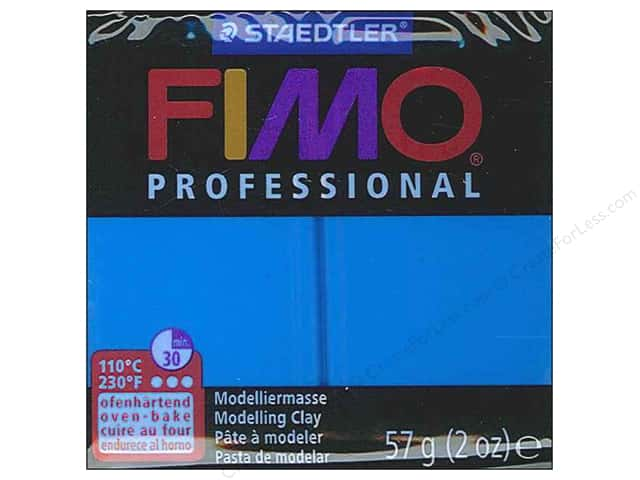Fimo Professional Clay 2 oz.  True Blue