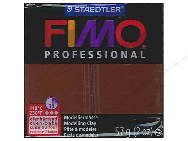 Fimo Professional Clay 2 oz. Chocolate