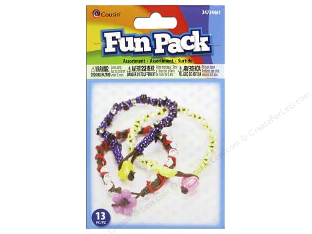 Cousin Fun Pack Kit Cord & Button Jewelry