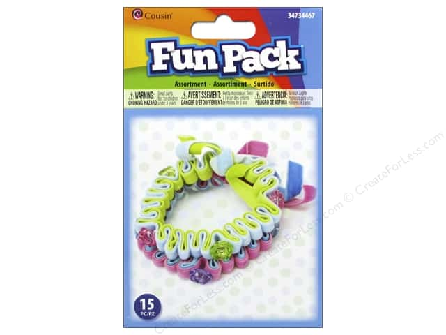 Cousin Fun Pack Kit Felt Flower Jewelry