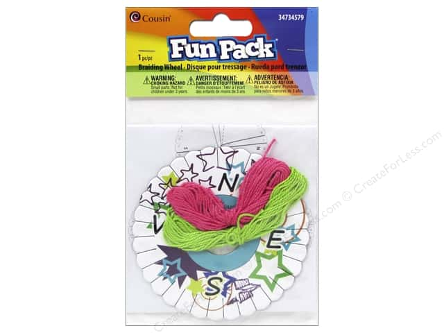 Cousin Fun Pack Braiding Wheel Disk