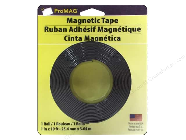 ProMag Magnetic Tape with Adhesive 1 in. x 10 ft.