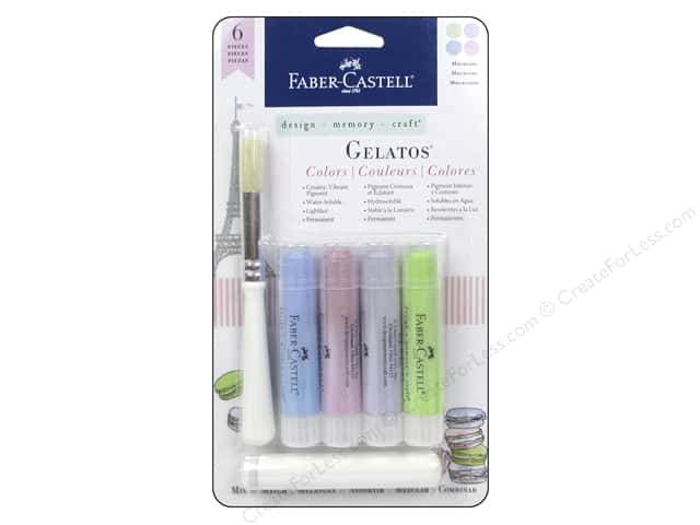 FaberCastell Gelatos Mix & Match Set Macaroons