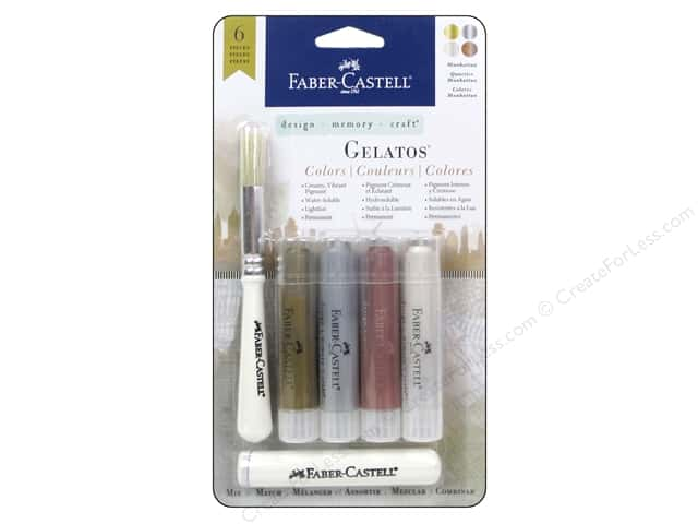 FaberCastell Gelatos Mix & Match Set Manhattan