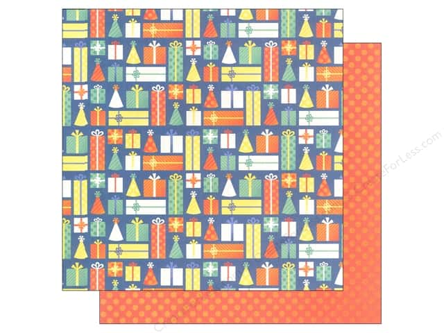 """We R Memory Keepers Cakes & Candles Paper 12""""x 12"""" Presents (12 sheets)"""