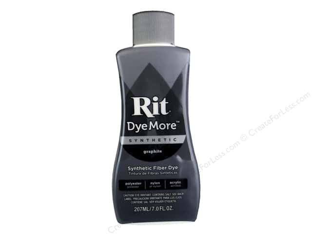 Rit DyeMore Liquid Synthetic Dye 7 oz. Graphite