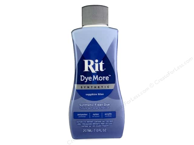 Rit DyeMore Liquid Synthetic Dye 7 oz. Sapphire Blue