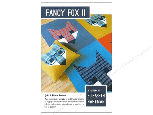 Elizabeth Hartman Fancy Fox II Pattern