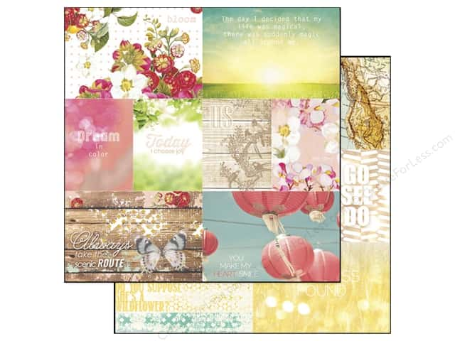 Webster's Pages 12 x 12 in. Paper Strawberry Fields Storyteller Sheet 1 (25 sheets)