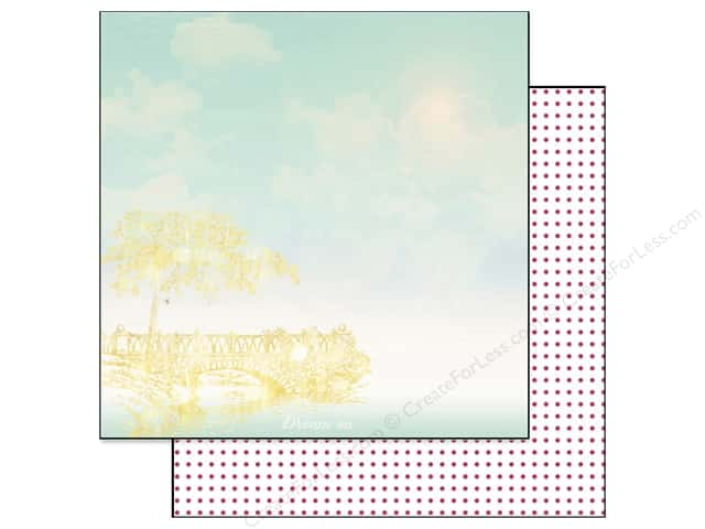 Webster's Pages 12 x 12 in. Paper Strawberry Fields Dream On (25 sheets)