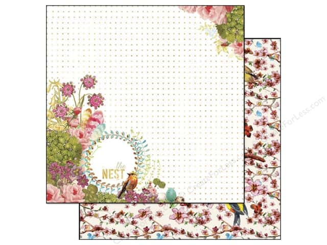 Webster's Pages 12 x 12 in. Paper Nest The Nest (25 sheets)