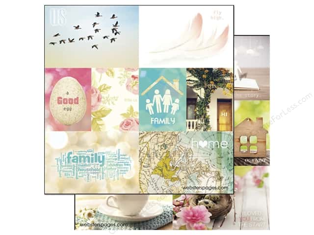 Webster's Pages 12 x 12 in. Paper Nest Storyteller Card 1 (25 sheets)