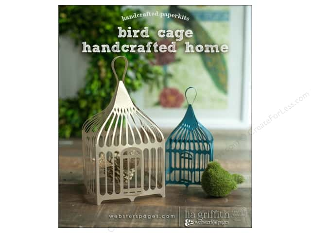 Webster's Pages Nest Collection Homecrafted Kit Birdcage
