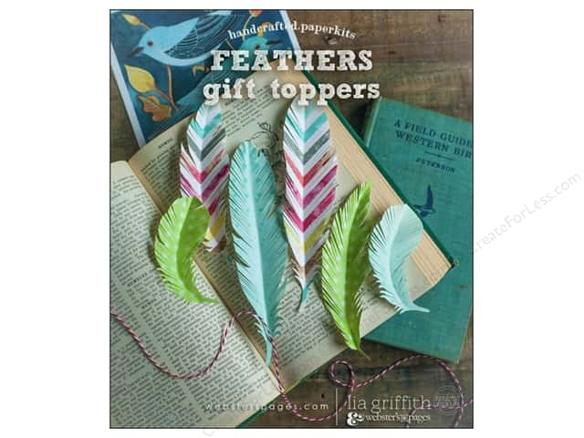 Webster's Pages Nest Collection Homecrafted Kit Feathers