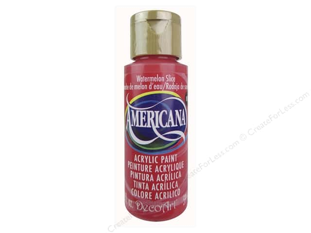 DecoArt Americana Acrylic Paint 2 oz. #324 Watermelon Slice