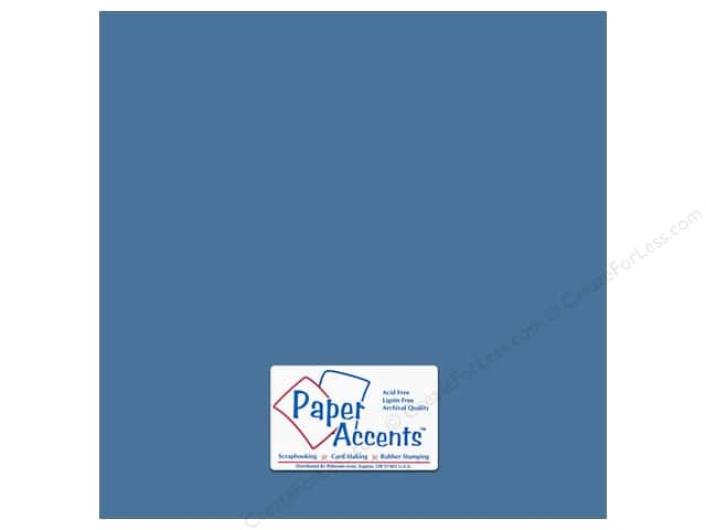 Paper Accents Cardstock 12 x 12 in. #74 Smooth North Sea (25 sheets)