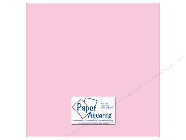 Paper Accents Cardstock 12 x 12 in. #18062 Smooth Blushing (25 sheets)