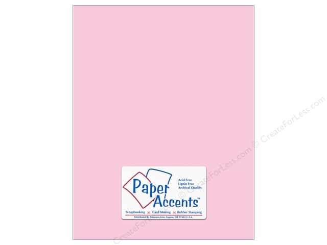 Paper Accents Cardstock 8 1/2 x 11 in. #18062 Smooth Blushing (25 sheets)