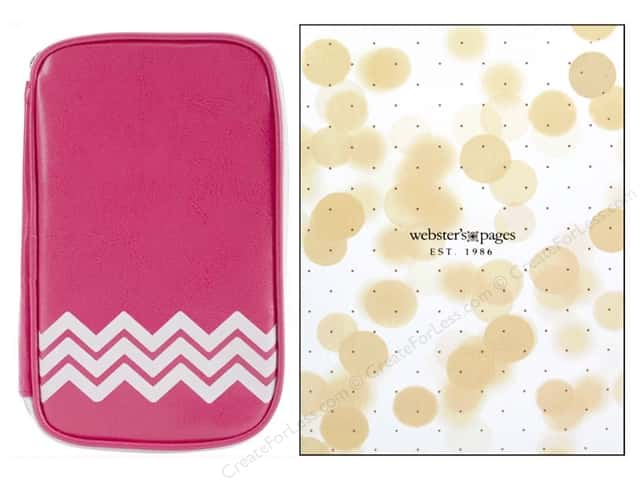 Webster's Pages Color Crush CraftMate Folio Dark Pink