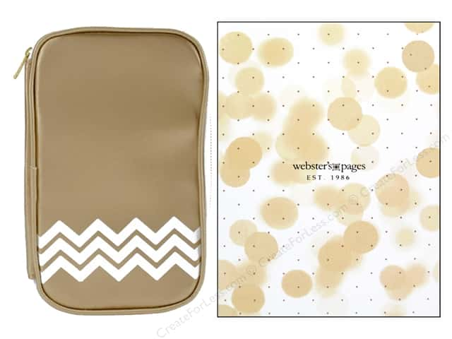 Webster's Pages Color Crush CraftMate Folio Gold
