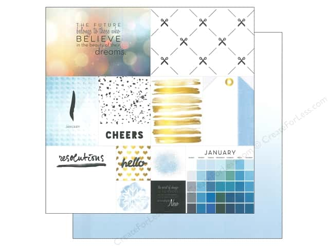 Webster's Pages 12 x 12 in. Paper Megan Hoeppner These Are The Days January (25 sheets)