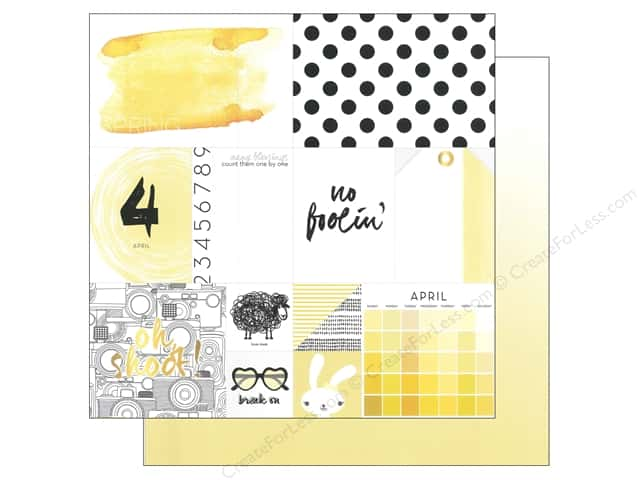 Webster's Pages 12 x 12 in. Paper Megan Hoeppner These Are The Days April (25 sheets)