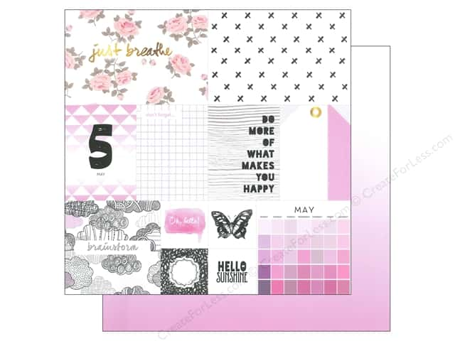 Webster's Pages 12 x 12 in. Paper Megan Hoeppner These Are The Days May (25 sheets)