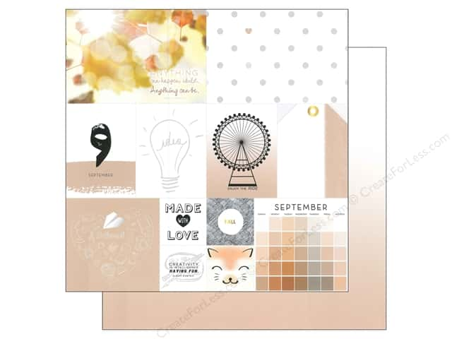 Webster's Pages 12 x 12 in. Paper Megan Hoeppner These Are The Days September (25 sheets)