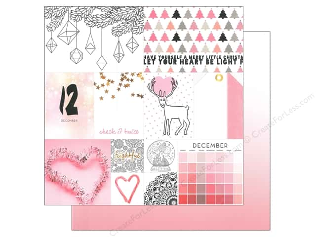 Webster's Pages 12 x 12 in. Paper Megan Hoeppner These Are The Days December (25 sheets)