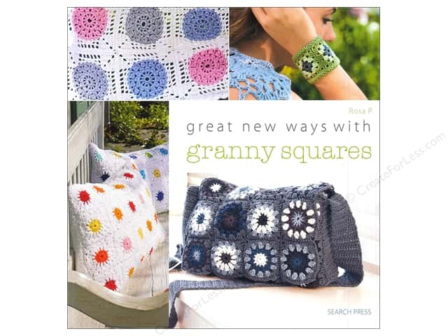 Search Press Great New Ways With Granny Squares Book