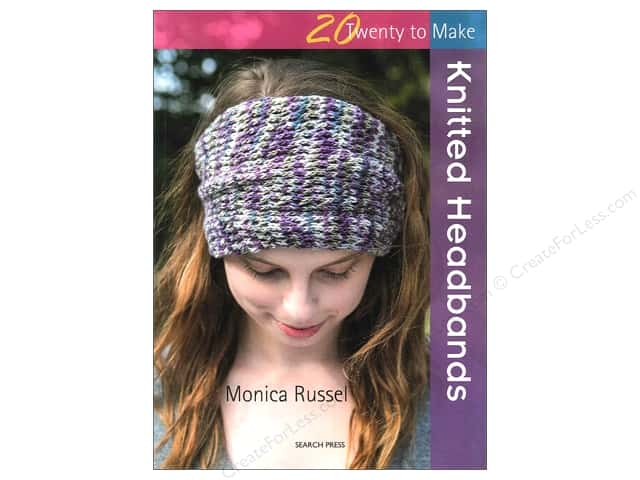Search Press Twenty To Make Knitted Headbands Book