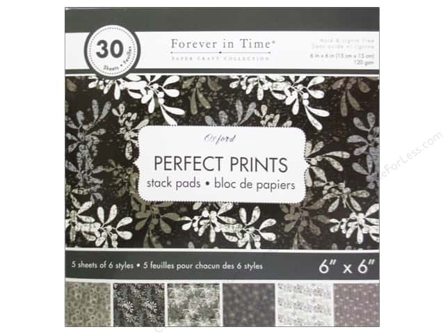 "Multicraft Stack Pad 6""x 6"" Perfect Prints Oxford"