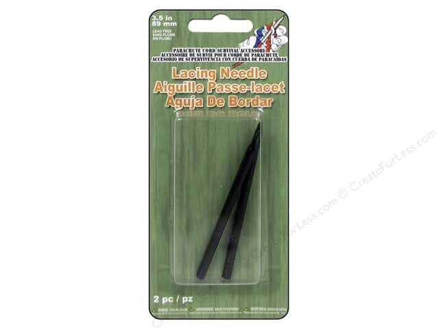 Pepperell Parachute Cord Accessories Lacing Needle 2pc