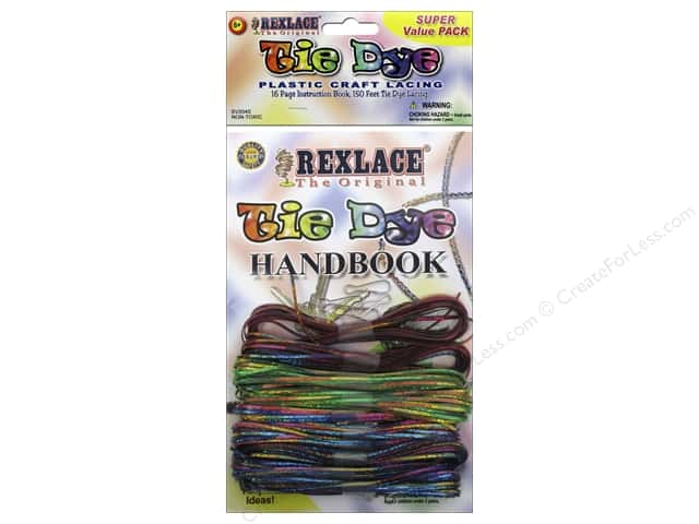 Pepperell Kits Rexlace Super Value Tie Die