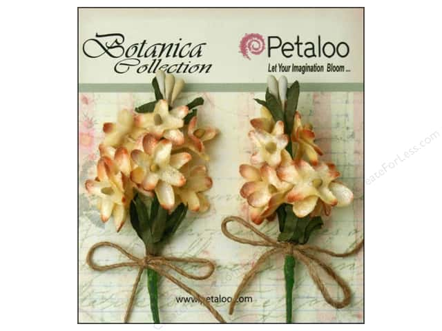 Petaloo Botanica Collection Velvet Lilacs Cream