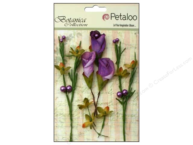 Petaloo Botanica Collection Calla Lilies & Berries Lavender/Purple