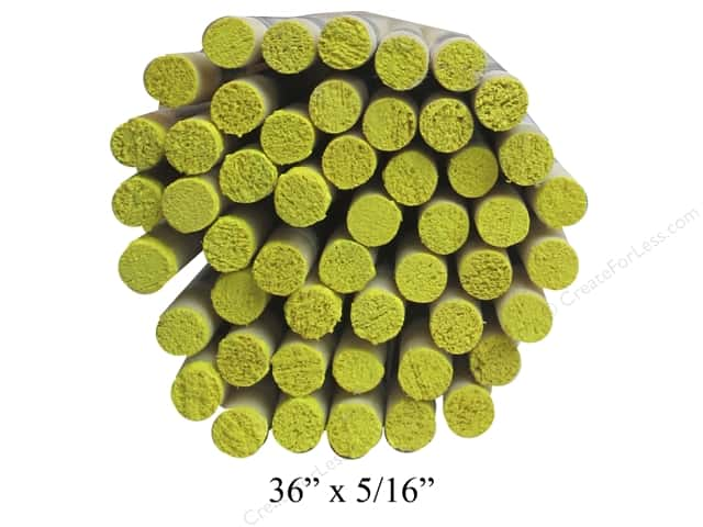 Wood Dowels 36 x 5/16 in. (50 pieces)