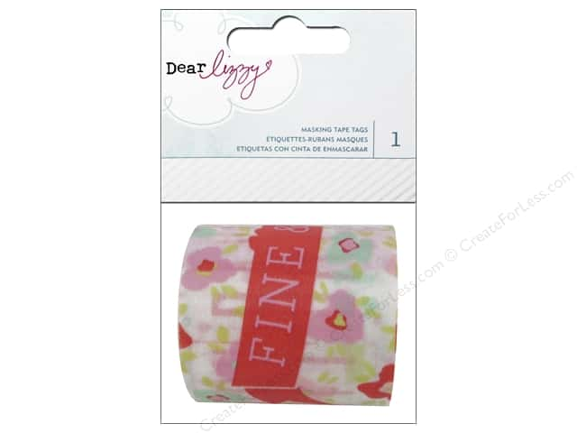 American Crafts Masking Tape Tags Dear Lizzy Fine & Dandy